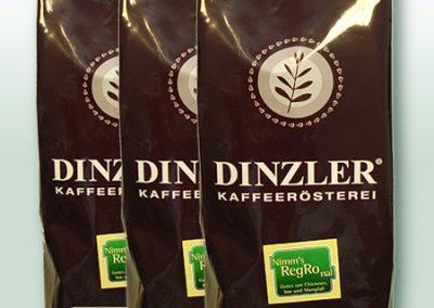 Nimm's RegRonal Dinzler Kaffee gustoso