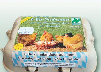Nimm's RegRonal Bio Freilandeier Birkenhof