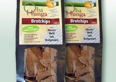Nimm's RegRonal Brotchips Vollkornroggen Obahunga