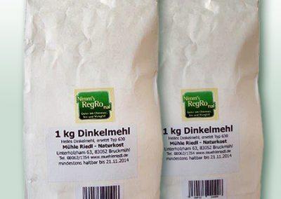 Nimm's RegRonal Mühle Riedl Dinkelmehl