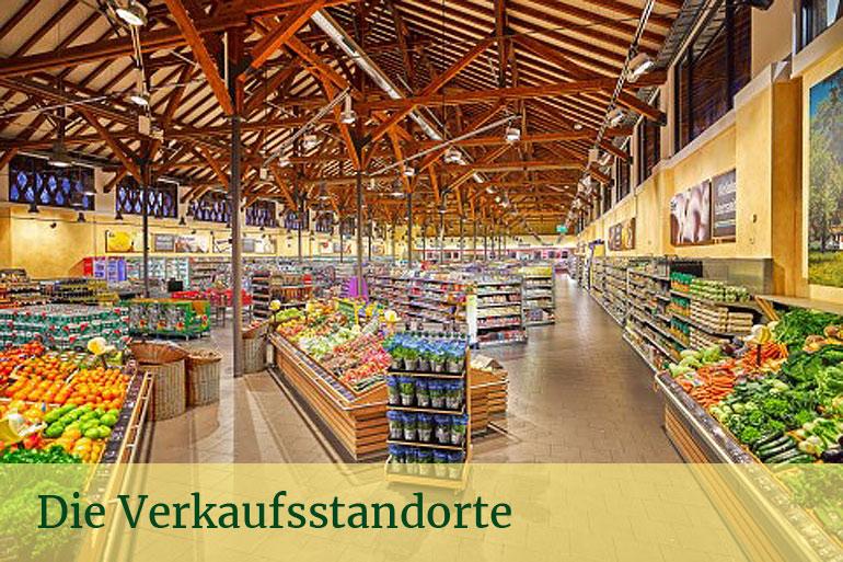Blick in einen Die Nimm´s RegRonal Supermarkt