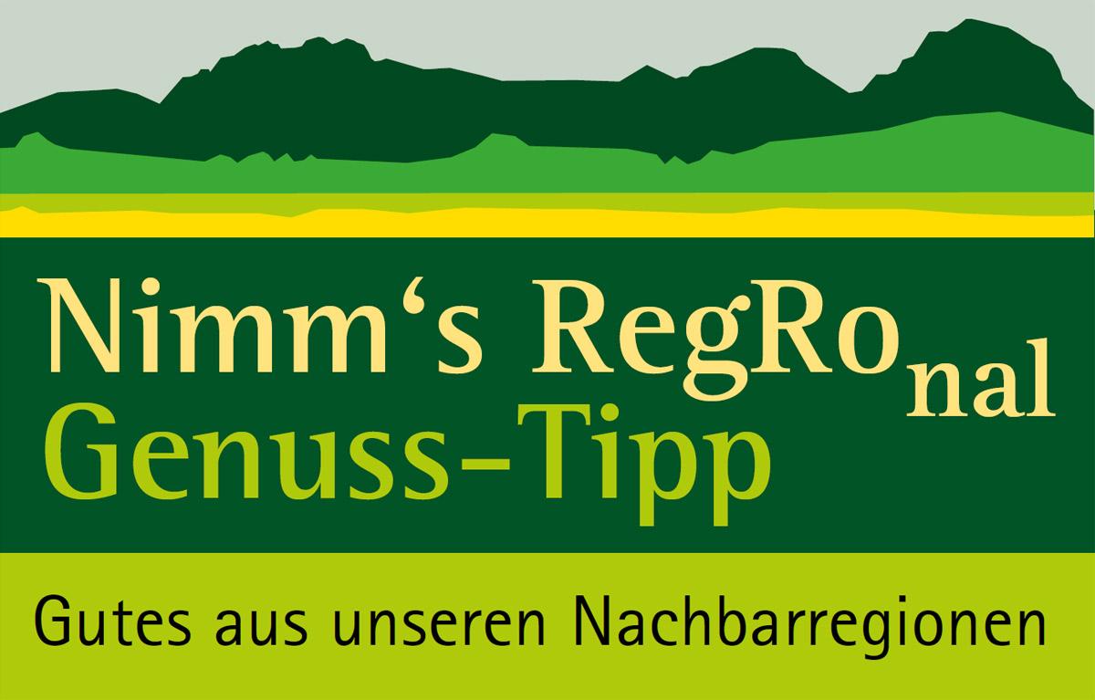 Label Nimm´s RegRonal Genuss-Tipp