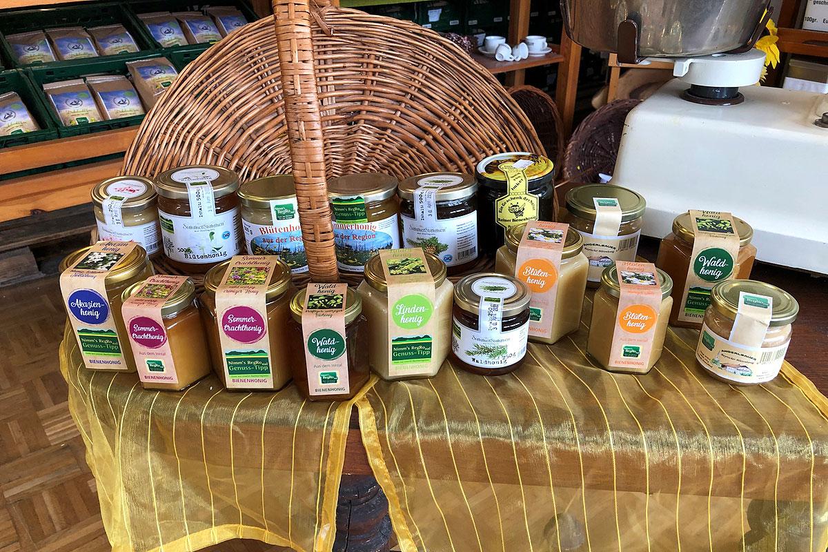 Die Honigsorten von Nimm´s RegRonal