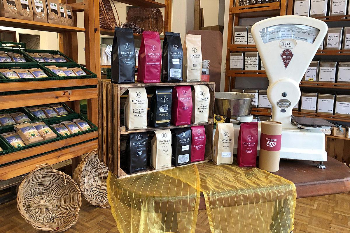 Die Kaffeesorten von DINZLER bei Nimm´s RegRonal